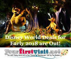 disney world deals for early 2018 released yourfirstvisit net