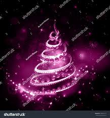merry christmas night holiday background pink stock vector