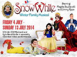 snow white tickets children s and theatre show times