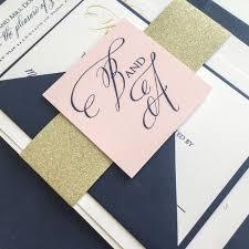 Blush Wedding Invitations Navy And Blush Wedding Invitations Wedding Ideas