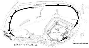 pevensey castle wikipedia
