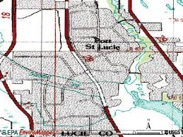 port st fl map port st florida fl profile population maps