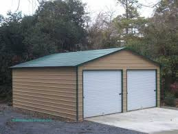 building a 2 car garage garage designs custom building package kits two car garages 2 car