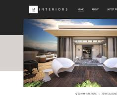 Award Winning Interior Design Websites by M Interiors On Behance
