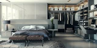 chambre a coucher moderne avec dressing chambre avec dressing 20 intérieurs élégants et modernes