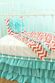 Boho Crib Bedding by The 25 Best Coral Baby Nurseries Ideas On Pinterest Coral Baby