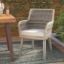 Rattan Patio Dining Set Wicker Patio Dining Chairs You Ll Wayfair
