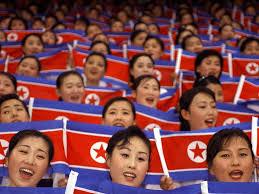 Cheerleader Flags North Korea Sending Cheerleaders To Asian Games In Seoul To Soothe