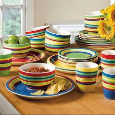 ideas multi colored stoneware dinnerware sets with sango