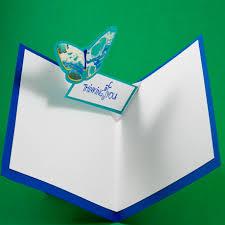 card making idea v fold pop up birthday card tutorial greeting