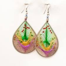 threaded earrings how to easy threaded earring tutorial diy earrings