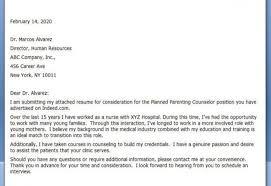 cover letter sample career change