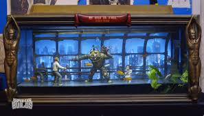 i d kill to live in rapture bioshock themed aquarium geekologie