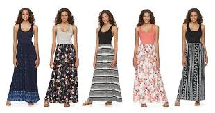 cute junior maxi dresses only 16 00 shipped at kohl u0027s was 48 00