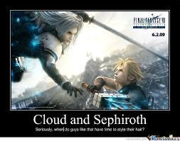 Sephiroth Meme - cloud and sephiroth by letholdusofblackrain meme center