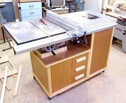 table saw station plans mobile table saw and router cabinet article about it and plans can