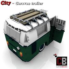 lego mini cooper custombricks de lego custom moc city caravan trailer wohnwagen