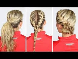 quick and easy hairstyles for running 177 best hair images on pinterest hair dos hairstyle ideas and