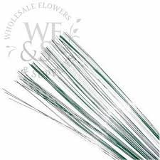 floral wire green floral stem wire 22 wholesale flowers and supplies