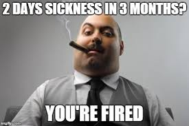Sickness Meme - working in the uk as an agency worker like almost everyone else in