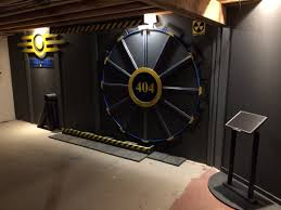 check out this fallout inspired gaming room door gamespot