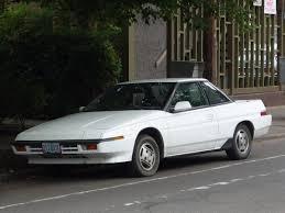 curbside classic subaru xt u2013 forward to the future in 1985