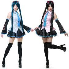 Outlet Halloween Costumes Vocaloid Hatsune Miku Costume Halloween Fancy Dress Ebay