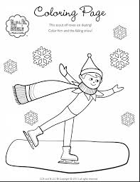 awesome elf on shelf coloring pages with elf on the shelf