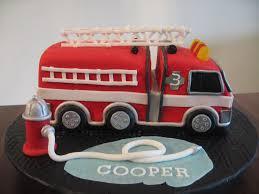 firetruck cake my sweet cooper s truck