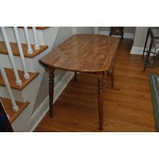 Ethan Allen Drop Leaf Dining Table Chairish - Ethan allen drop leaf dining room table
