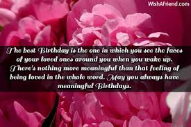 the best birthday is the one inspirational birthday message
