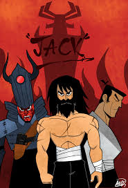 samurai jack samurai jack fan art poster samuraijack
