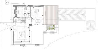 piano floor plan villa elle maison