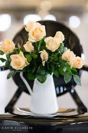 Simple Black And White Lounge Pics Chic Wedding Inspiration At Brick W Cavin Elizabeth