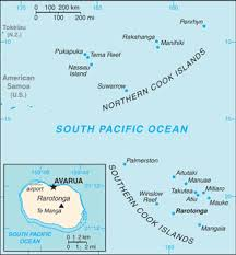 where is cook islands located on the world map the world factbook central intelligence agency