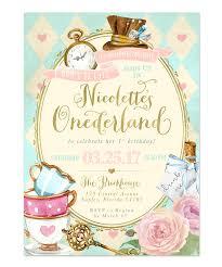 alice in wonderland onederland u0027s 1st first birthday party