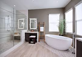 bathroom tile floor ideas bathroom contemporary with accent tile