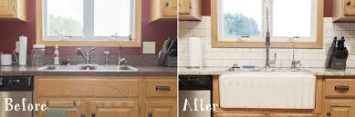 how to install an apron sink in an existing cabinet how to install a fireclay farmhouse kitchen sink the