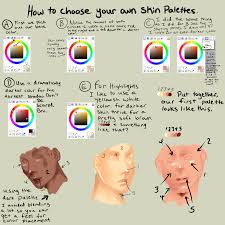 how to pick out your colors for semi realism by thecomicstream on