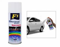 buy f1 car touchup spray paint 450ml white hyundai verna fluidic