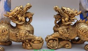 foo fu dog aliexpress buy 11 bronze foo fu dog guardion