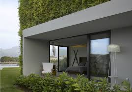 Green Interior Design by Insulating Veil Of Plants Envelops Stunning Vallarta House In