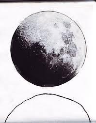 full moon pencil sketch nvsi