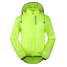 mens hi vis waterproof cycling jacket santic mens waterproof jacket cycling mountain bike clothing