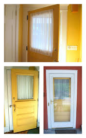 Front Door Window Curtains Front Door Sidelight Curtains Side Window Shades Covering