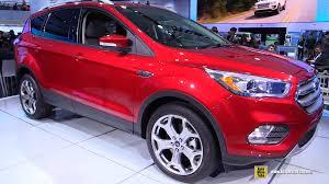 ford escape 2016 interior 2017 ford escape titanium exterior and interior walkaround