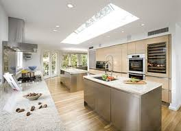 modern kitchen chimney awesome modern stainless steel kitchen designs home design