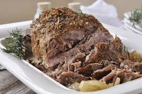 crockpot pork roast is delicious only 5 ingredients