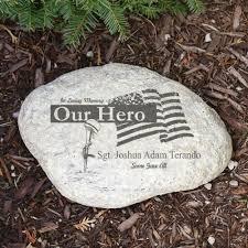 engraved memorial stones memorial garden giftsforyounow