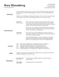Resume Templates In Word 2010 Resume Resume Templates Microsoft Word 2010 Free Download Layout